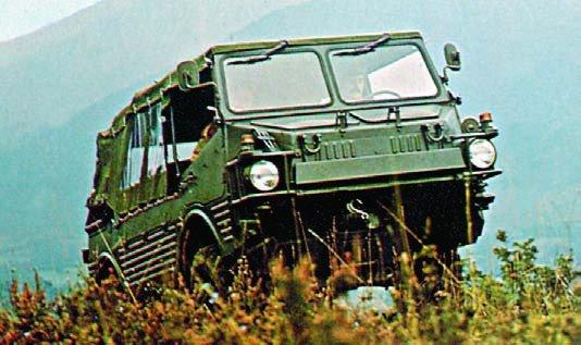 1972 FIAT-MAN-SAVIEM VCL, 4x4