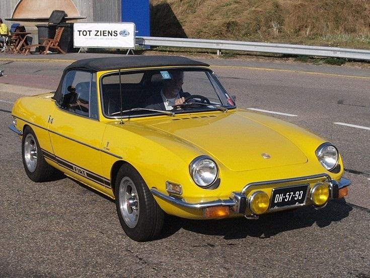 1972 Fiat Sport 850 Cabriolet