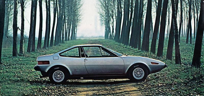 1972 Michelotti Fiat 132 Coupe Flares