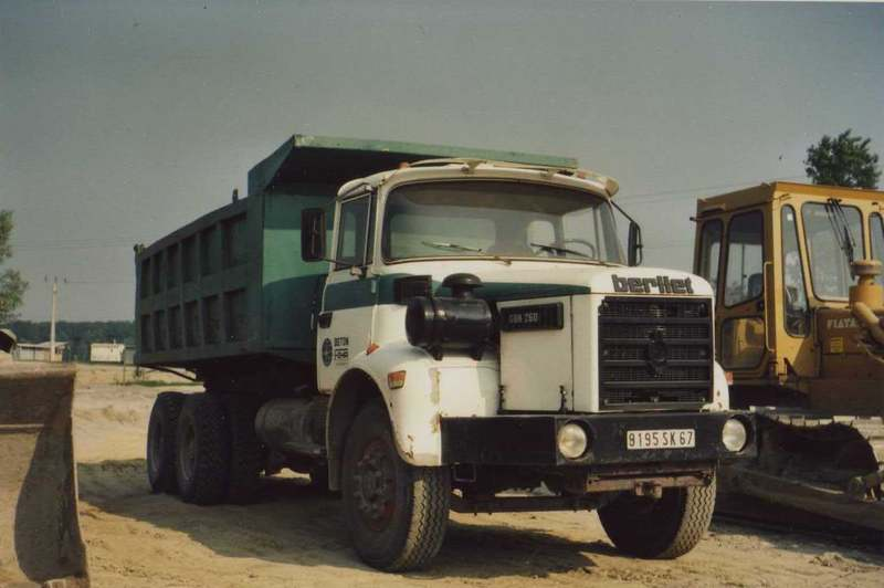 1973 Berliet Dump truck a