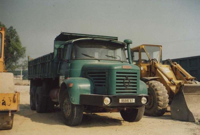 1973 Berliet Dump truck