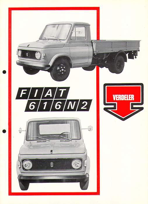 1973 Fiat 616n2 nlp1c