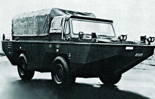 1973 FIAT-6640А, 4x4
