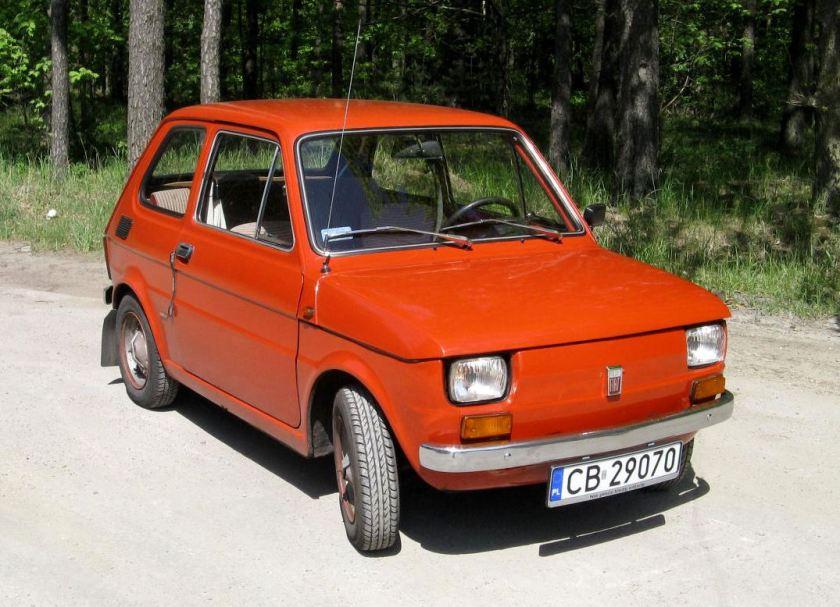 1973 Polski Fiat 126p (Poland)