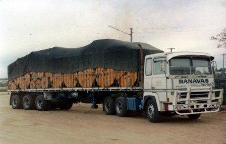1974 Berliet TR 260 en Australie