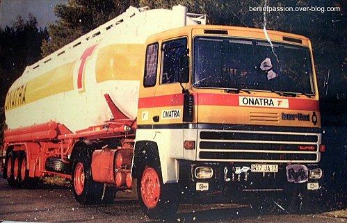 1974 Berliet TR 280 de la société ONATRA