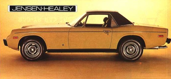 1974 jensen healey yellow