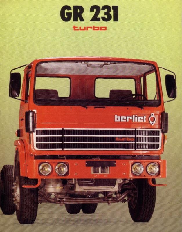 1975 Berliet GR 231 Turbo