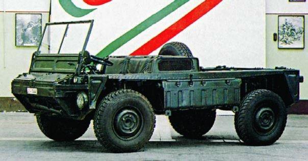 1975 FIAT-6615АМ (BLC-124), 4x4