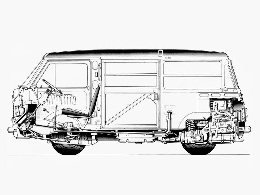 1976-80 Fiat 900T Van a