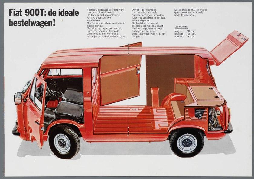 1976 FIAT 900T Bestelwagen a