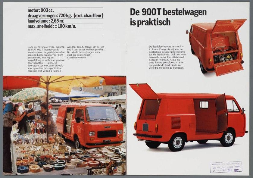 1976 FIAT 900T Bestelwagen b