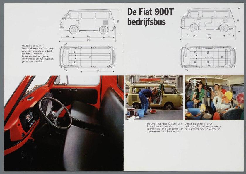 1976 FIAT 900T Bestelwagen Bedrijfsbus