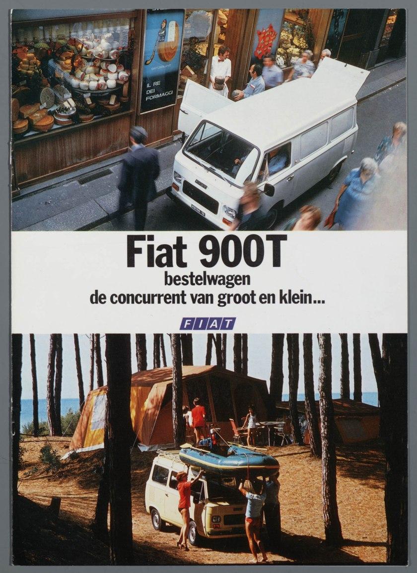 1976 FIAT 900T Bestelwagen