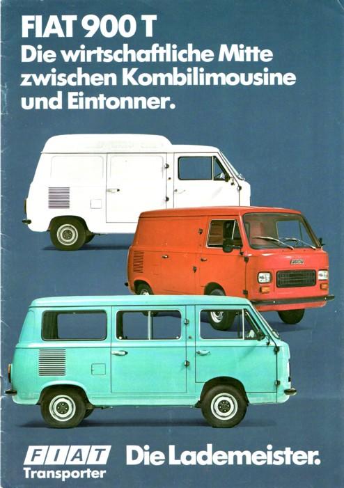 1976 FIAT 900T Catalogus