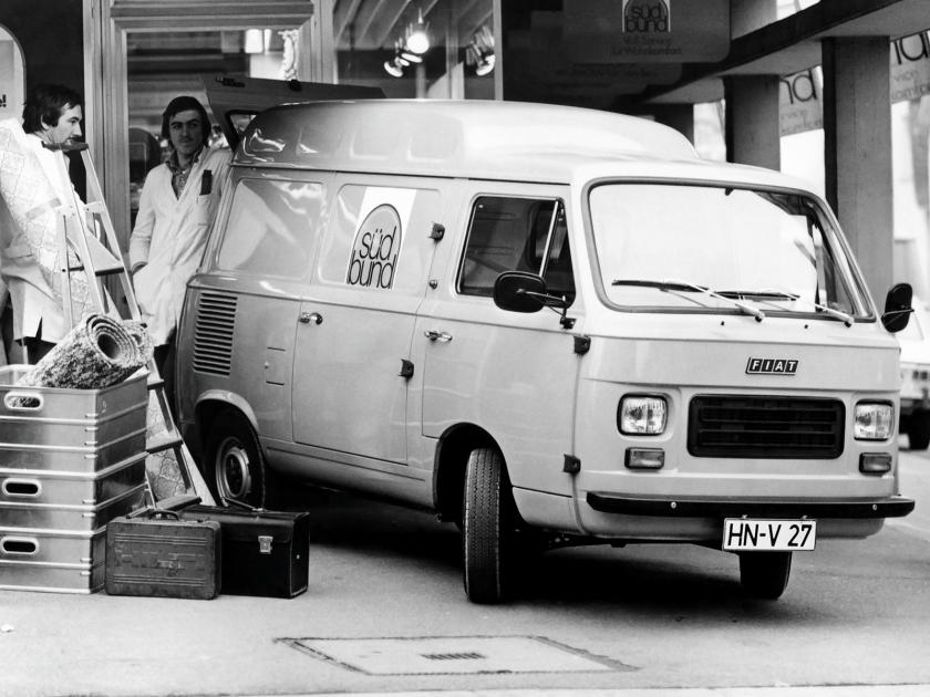 1976 Fiat 900T High Roof Van a