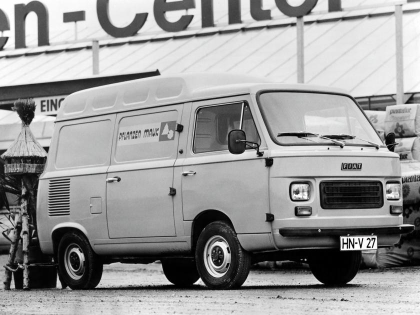 1977 Fiat 900T High Roof Van