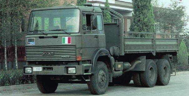 1977 IVECO-FIAT 260РМ35 (АСР90), 6x6