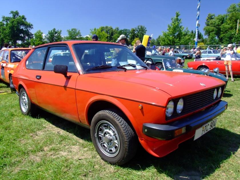 1978 Fiat 128 3P (3-door) Berlinetta