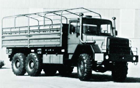 1978 IVECO-Magirus-Deutz 256D20AL, 6x6