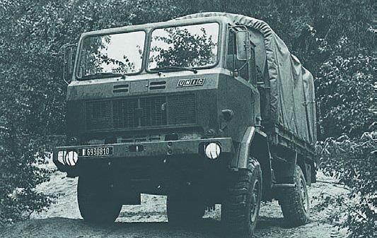 1978 IVECO-Unic 75РМ, 4x4