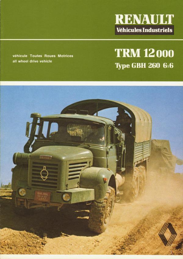 1979 Berliet TRM 12000 type GBH 260 6x6