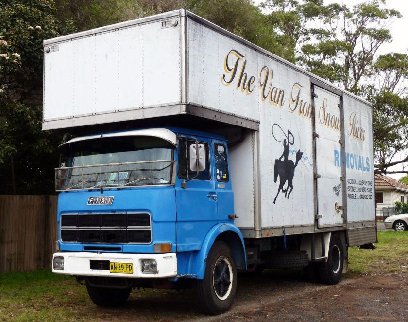 1979 Fiat 130NT truck
