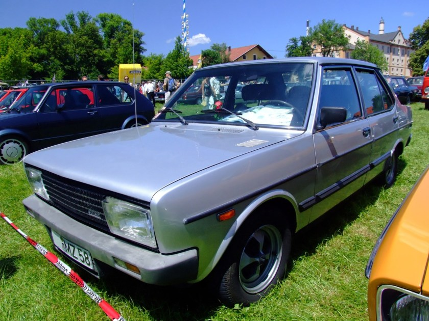 1979 Fiat 131 Supermirafiori 98PS