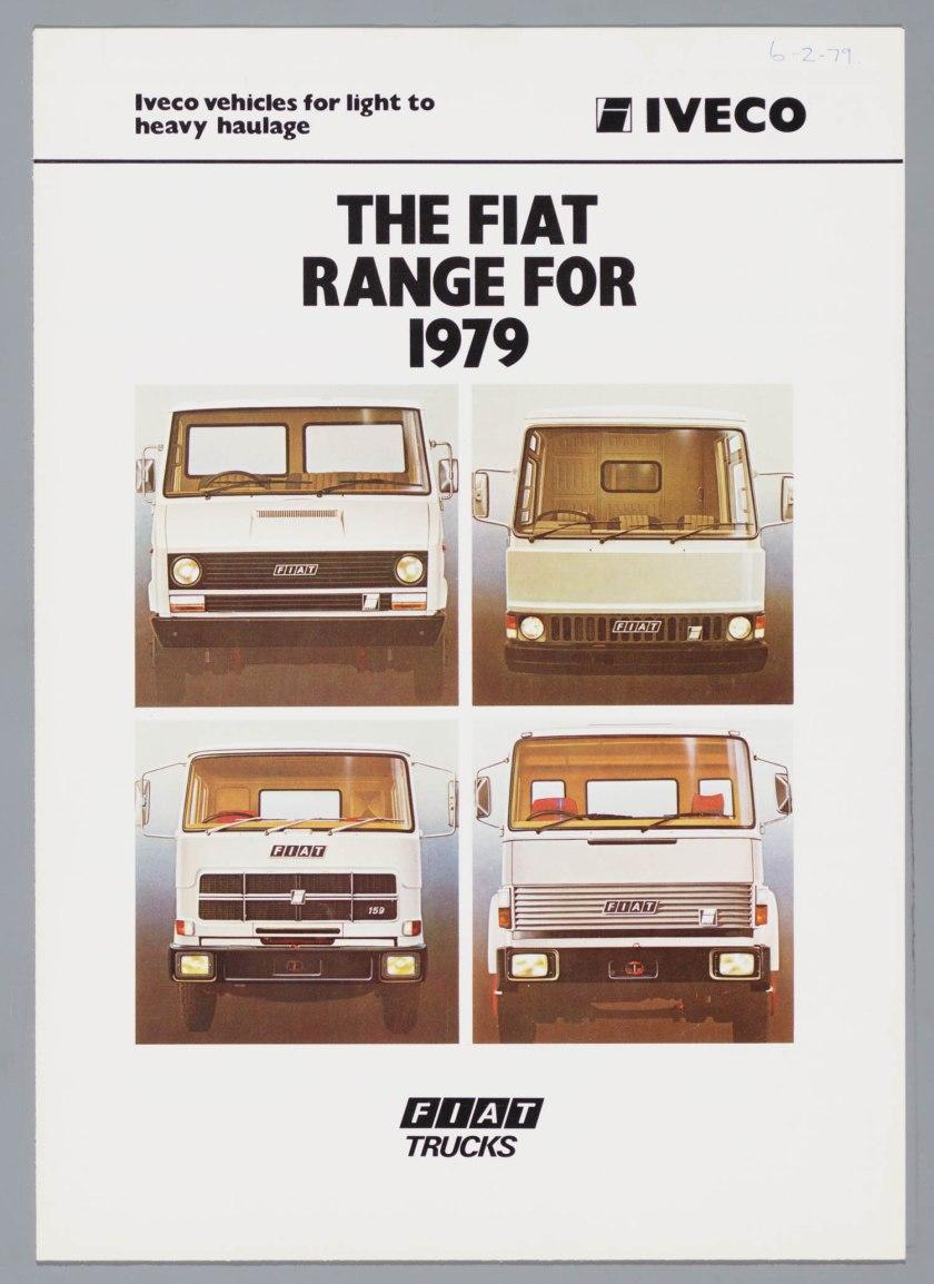 1979 FIAT Bedrijfswagens Brochure