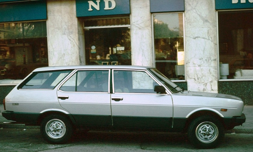 1979 SEAT 131 Estate while built in Spain, estates wore Fiat-badging elsewhere