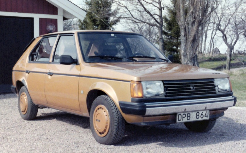 1979 Simca Chrysler Horizon GLS (Made in France) 1.5L petrol engine, painted Bronze Transvaal