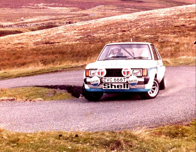 1979 Talbot Sunbeam Lotus at the 1979