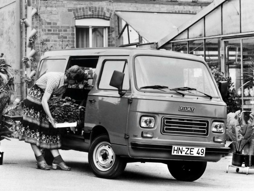 1980-85 Fiat 900E Van