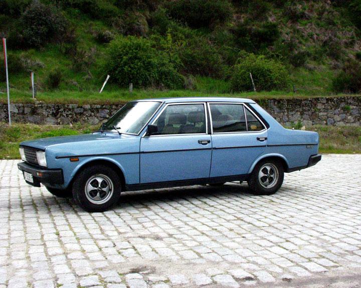 1980 blue SEAT 131, Salamanca, Spain