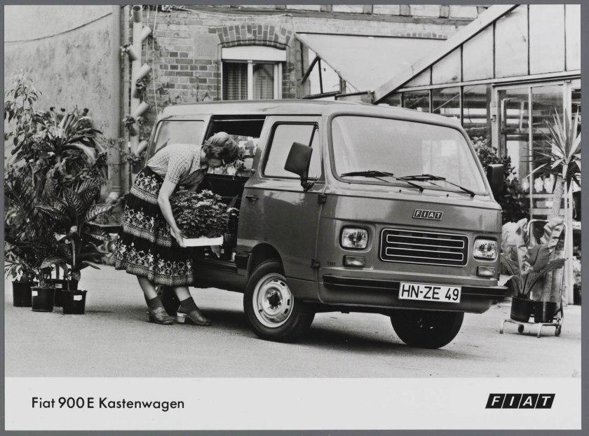 1980 FIAT 900 E bestelwagen