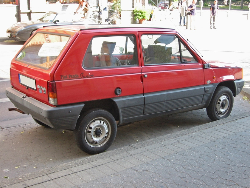1980 Fiat panda 1 rear
