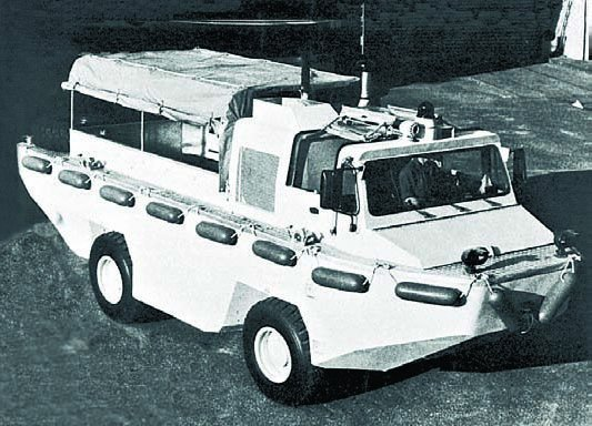 1981 IVECO-FIAT 6640G, 4x4