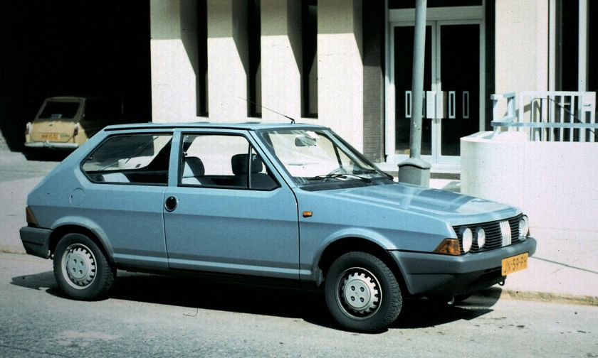 1982 Fiat Ritmo 3-door 2nd series.