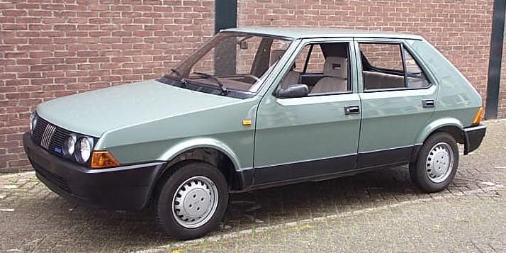 1985 Fiat Ritmo 3rd series.