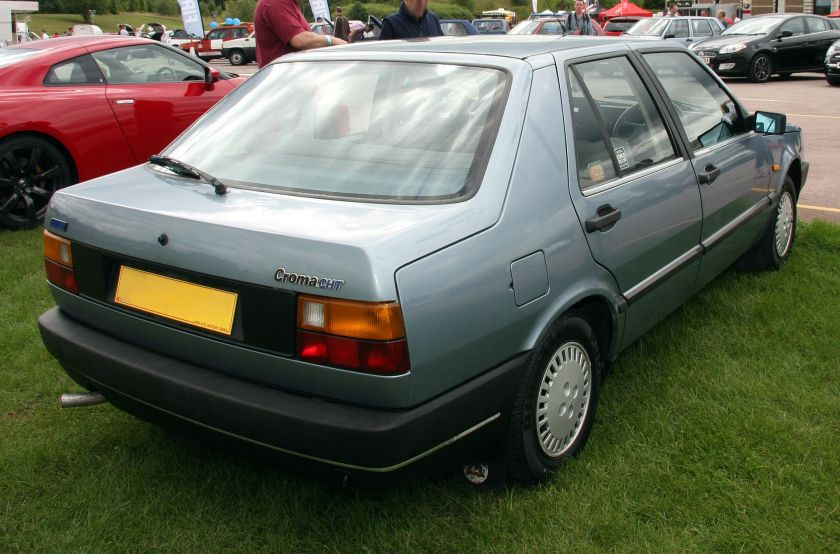 1987 Fiat Croma CHT rear