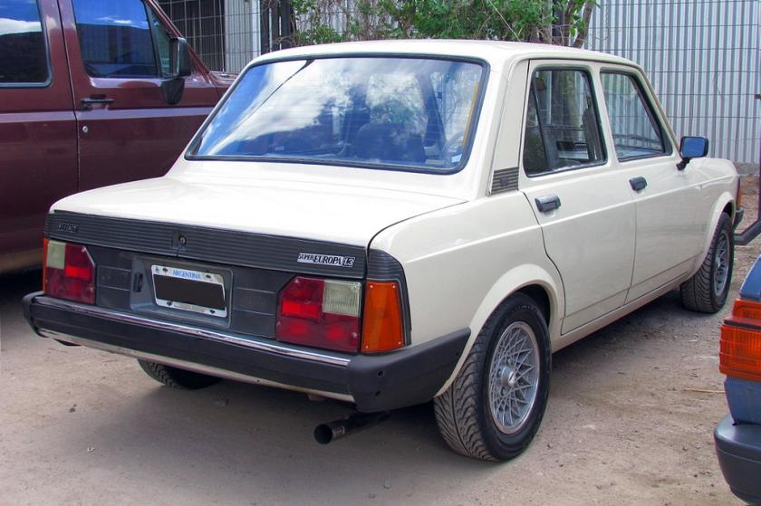 1988 Fiat Super Europa 1.3 (Argentina)