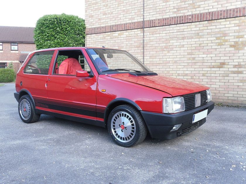 1988 Fiat Uno Turbo i.e. (UK-registered)