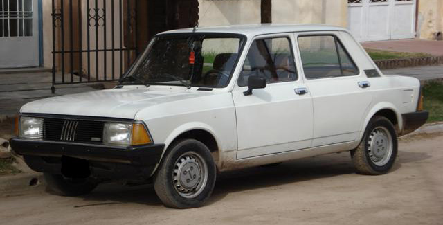 1990 Fiat 128 Super Europa, manufactured between 1983–1990 by Sevel Argentina
