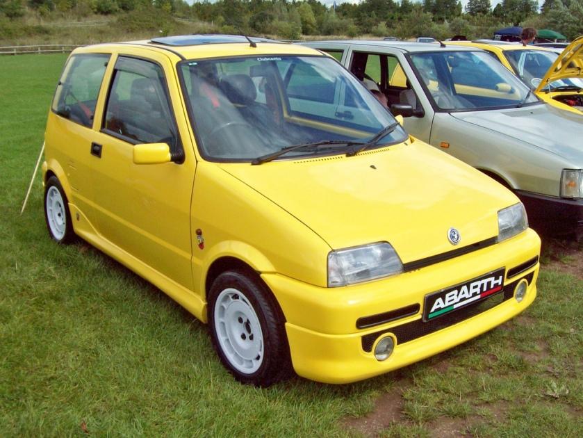 1991-98 Fiat Cinquento Abarth