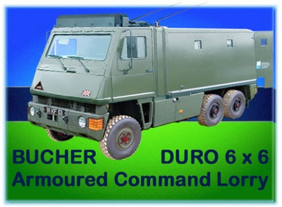 1994 Bucher (Mowag) Heavy Armoured (Bomb proof) Command Vehicle