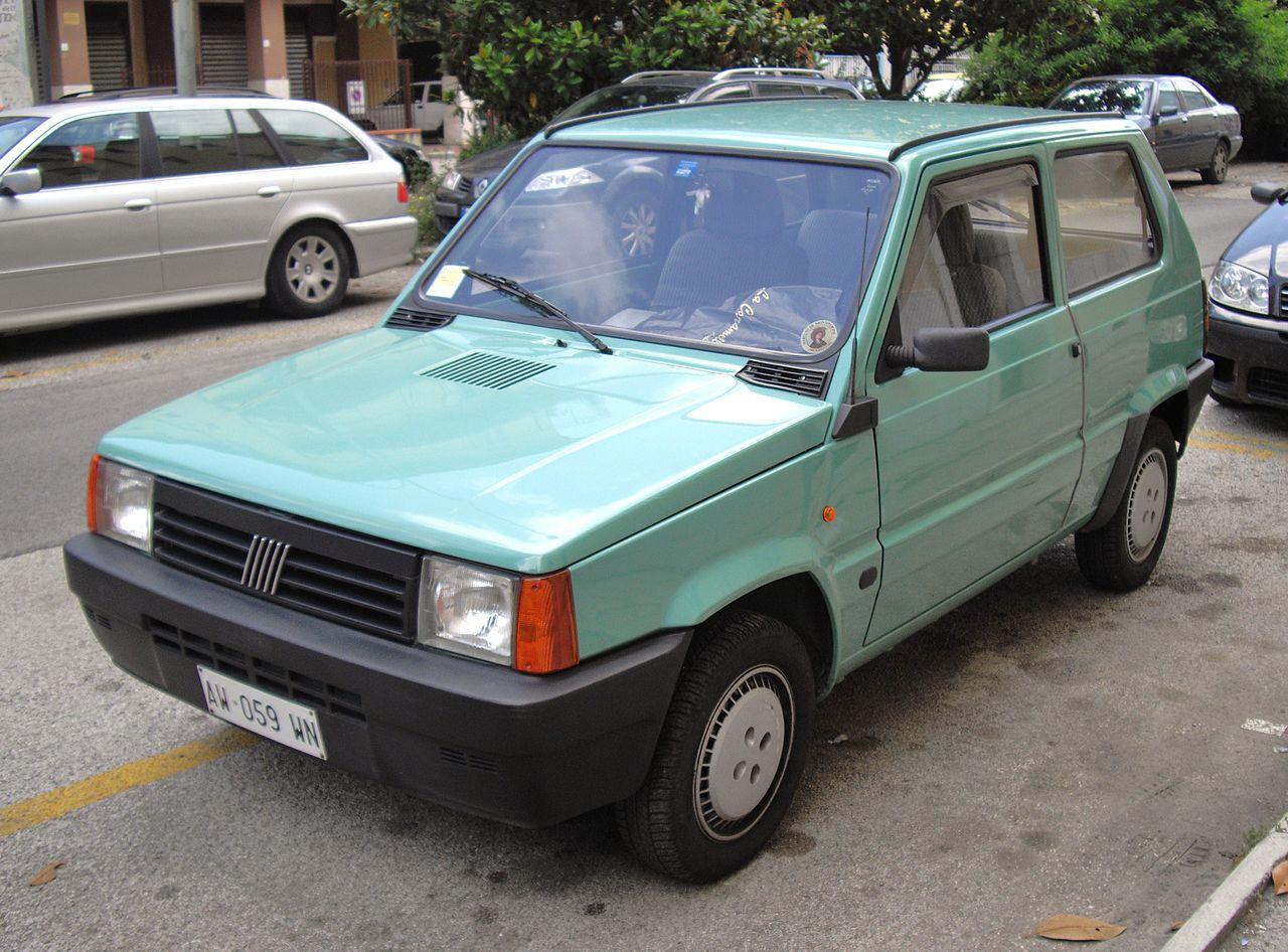 фиат панда 1.3 дизель 1986 год