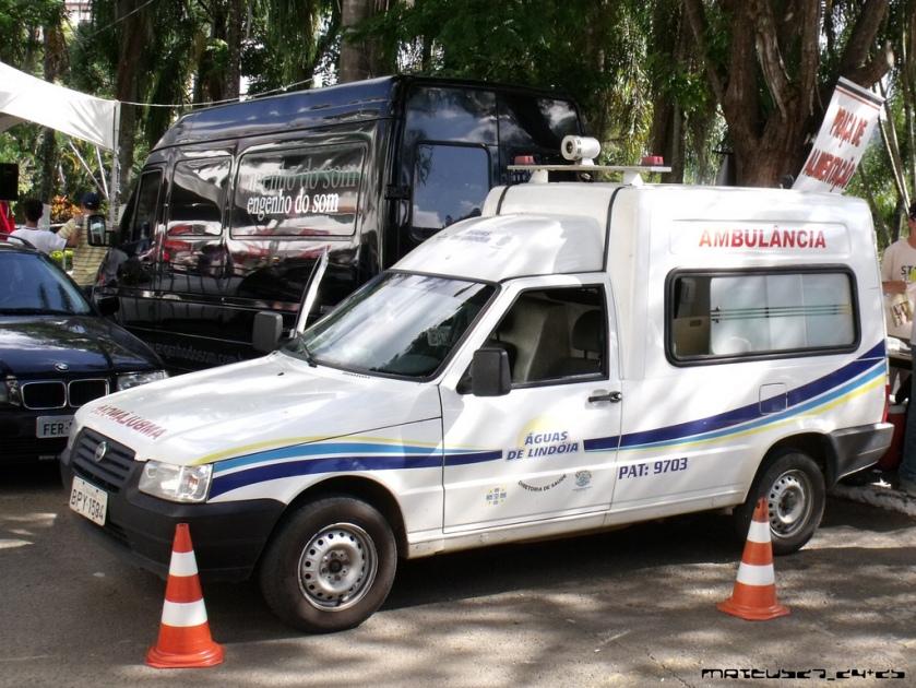 1999 FIAT FIORINO - Ambulance