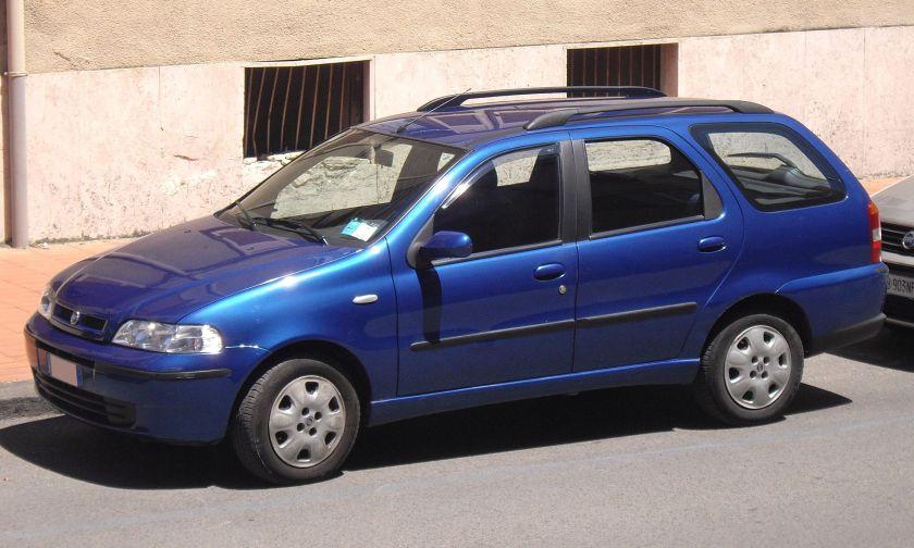 2001 Fiat Palio Weekend (Europe)
