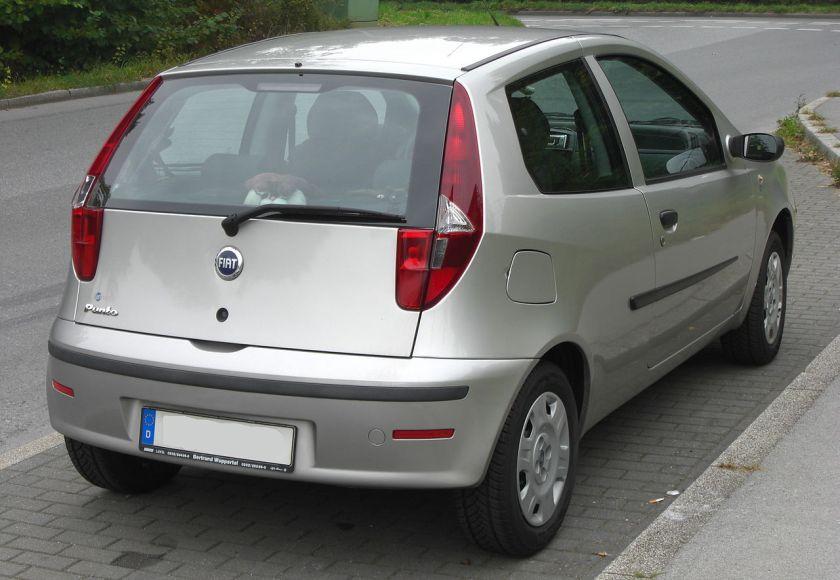 2003–2010 Fiat Punto II rear