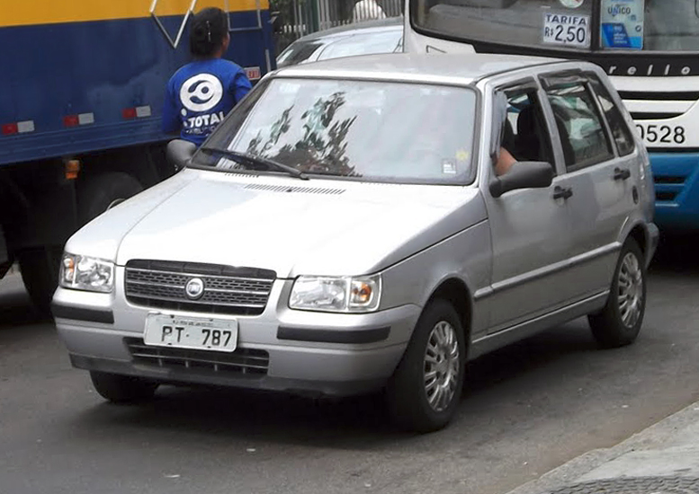 2004 facelift Fiat Uno a
